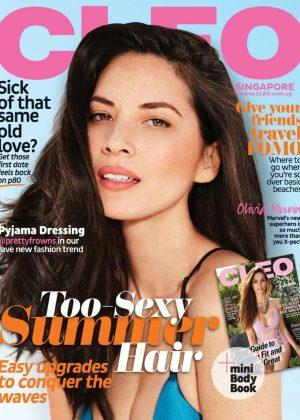 Olivia Munn - CLEO Singapore Magazine (June 2016)