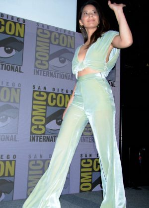 Olivia Munn - Day 1 of Comic-Con in San Diego