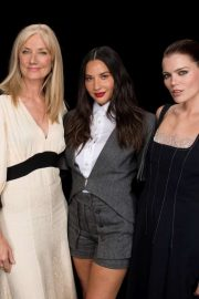 Olivia Munn Emma Greenwell and Joely Richardson - AOL Build Series Portrait in NYC