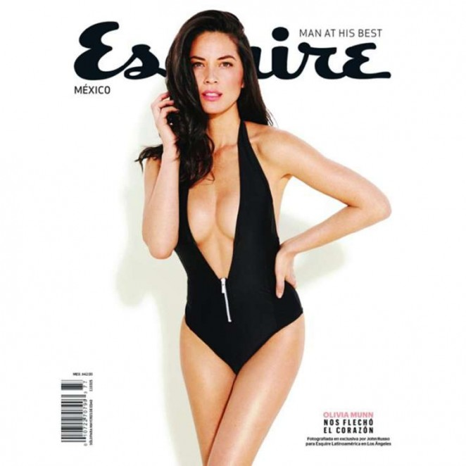 Olivia Munn - Esquire Cover Magazine (February 2015)
