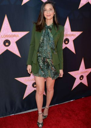 Olivia Munn - Eva Longoria Hollywood Walk Of Fame Ceremony in Beverly Hills