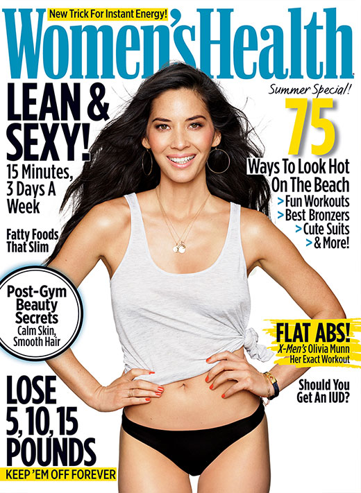 Olivia Munn for Women's Health Magazine (June 2016)