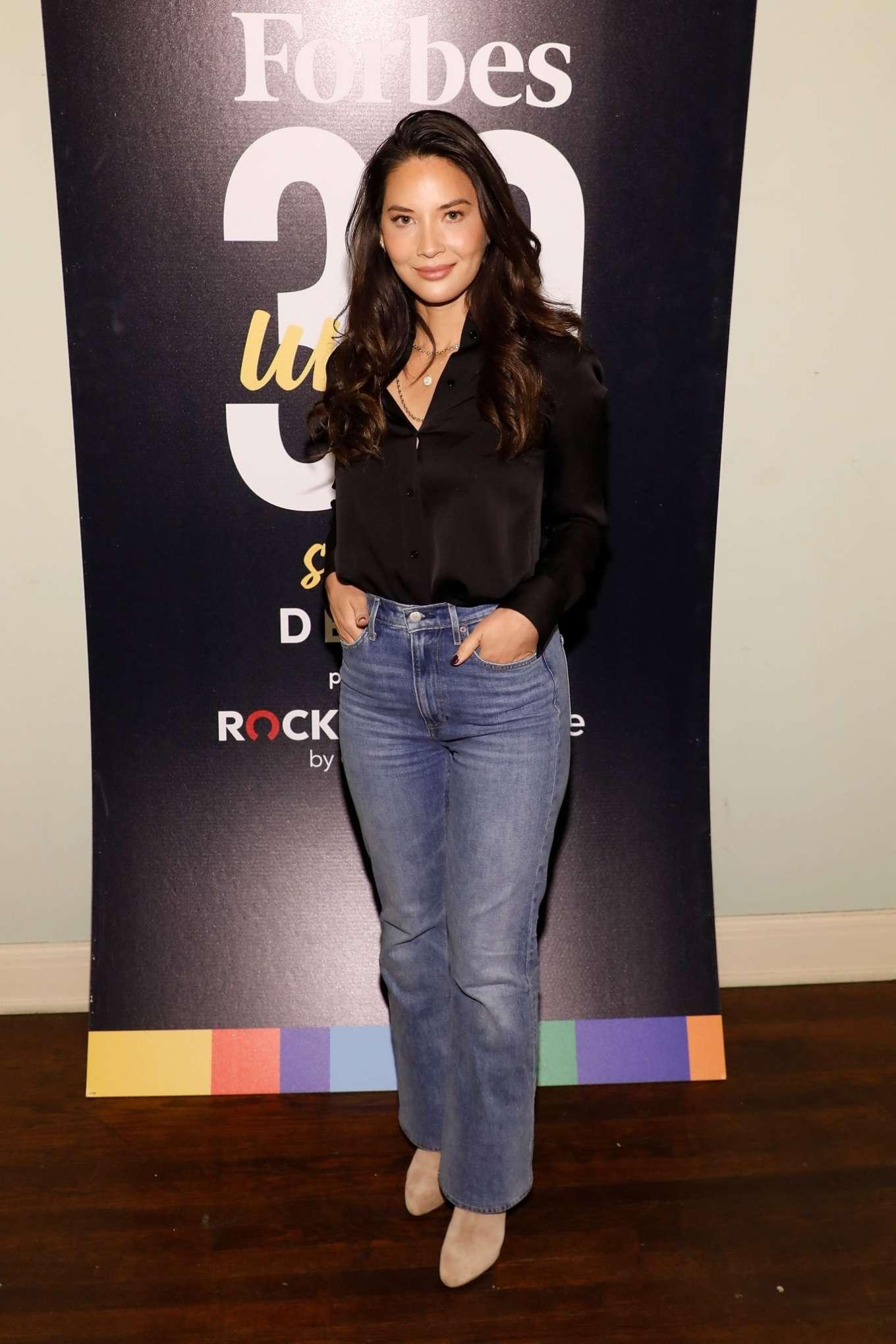 Olivia Munn 2019 : Olivia Munn – Forbes 30 Under 30 Summit 2019-01