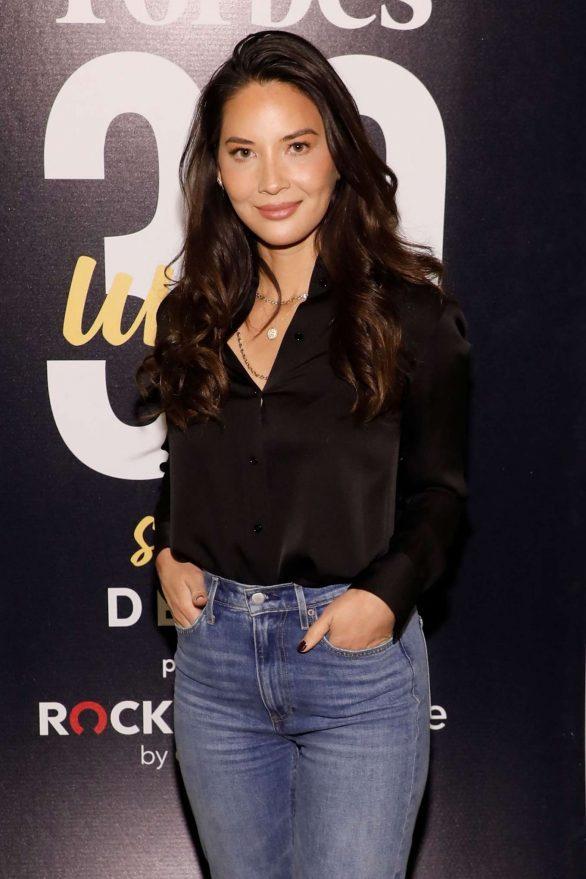 Olivia Munn - Forbes 30 Under 30 Summit 2019 in Detroit