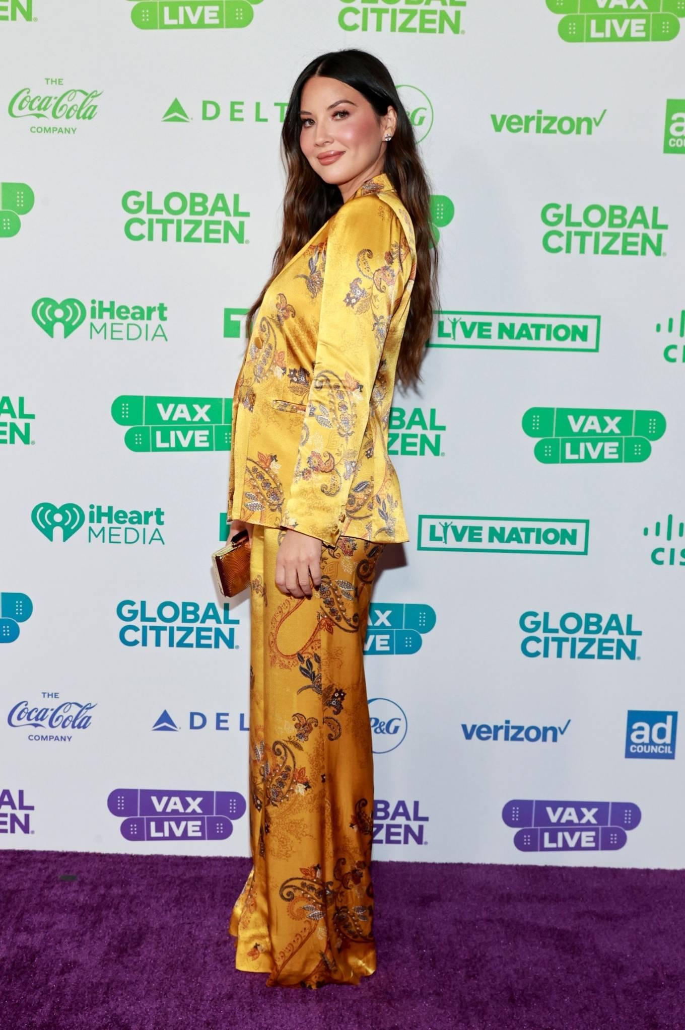 Olivia Munn 2021 : Olivia Munn – Global Citizen Vax Live: The Concert to Reunite the World at SoFi Stadium-01
