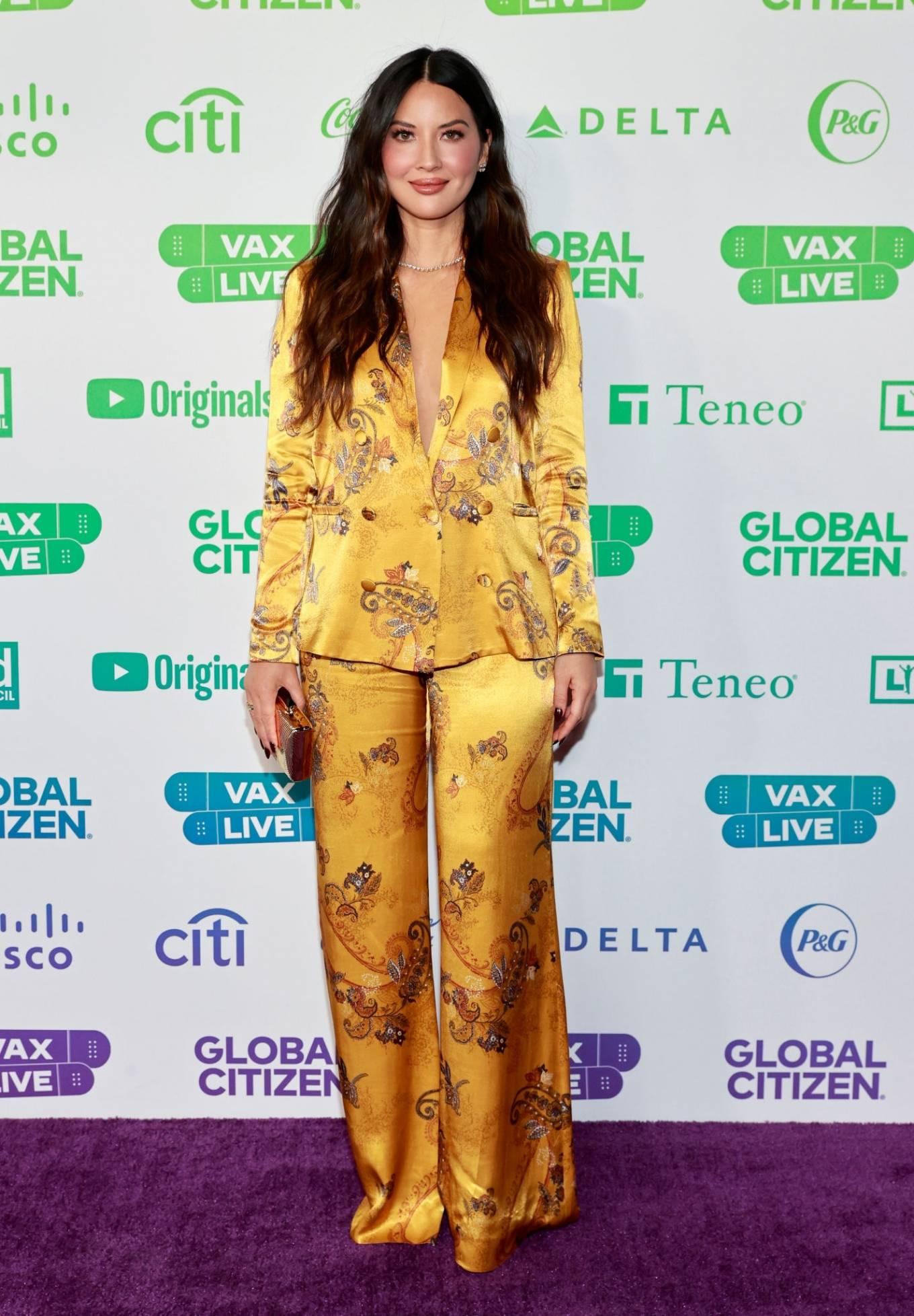 Olivia Munn 2021 : Olivia Munn – Global Citizen Vax Live: The Concert to Reunite the World at SoFi Stadium-05