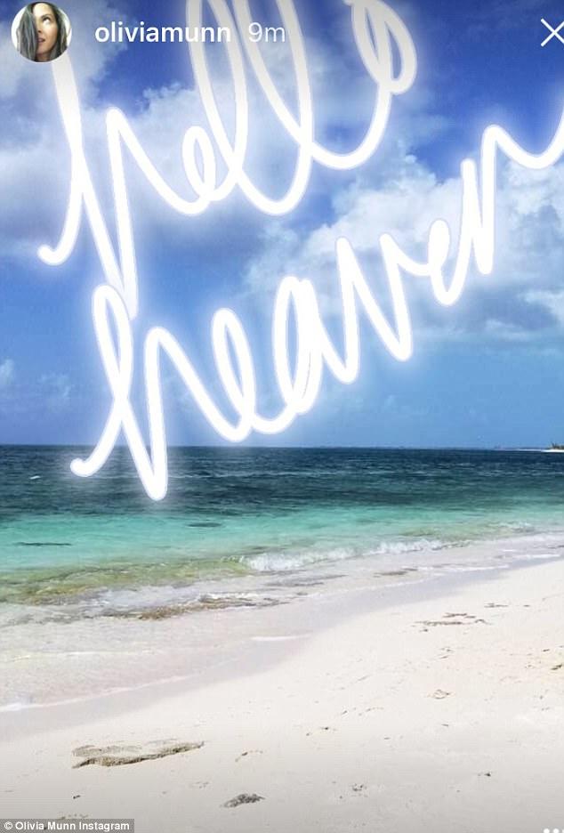 Olivia Munn: Hot in green bikini-03