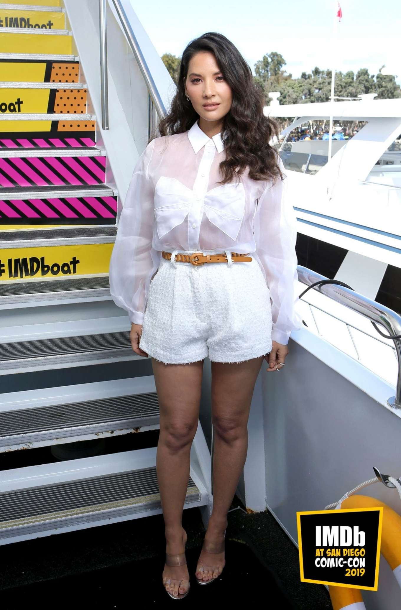 Olivia Munn - IMDBoat Celebrity Portraits at Comic Con San Diego 2019