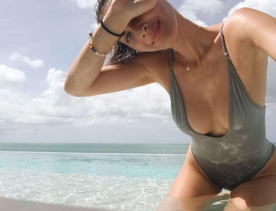 Olivia Munn in Swimsuit – Instagram