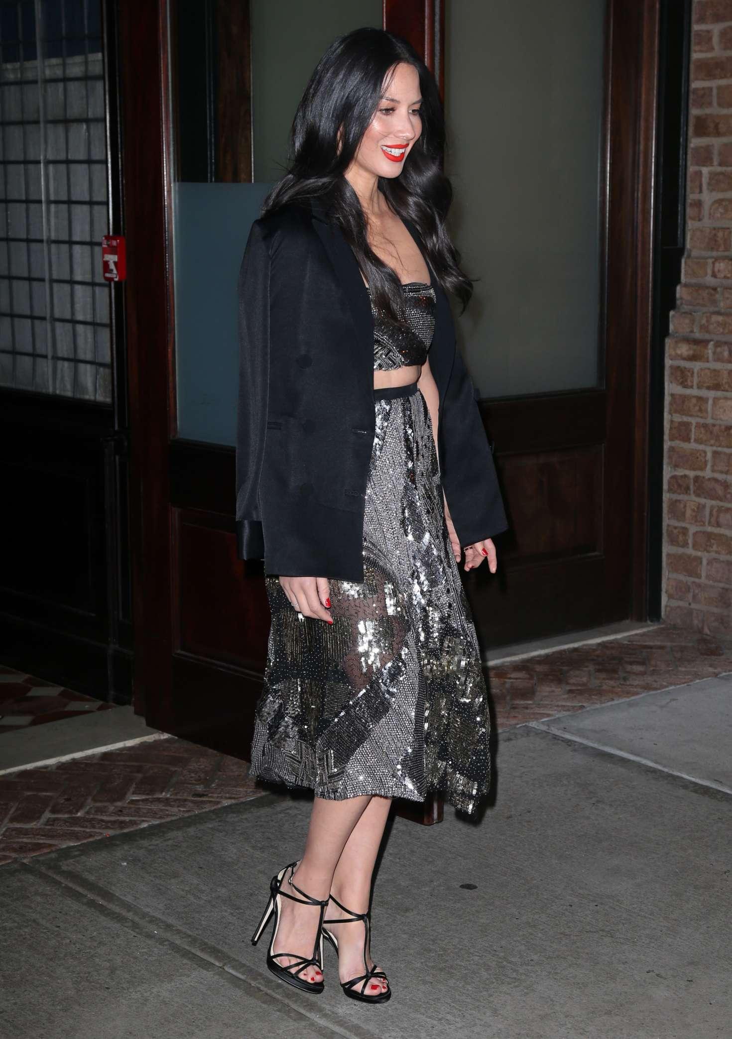 Olivia Munn 2016 : Olivia Munn Leaves her hotel in New York City -06
