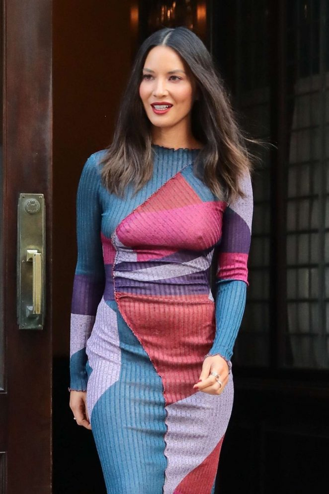 Olivia Munn - Leaves her hotel in NYC