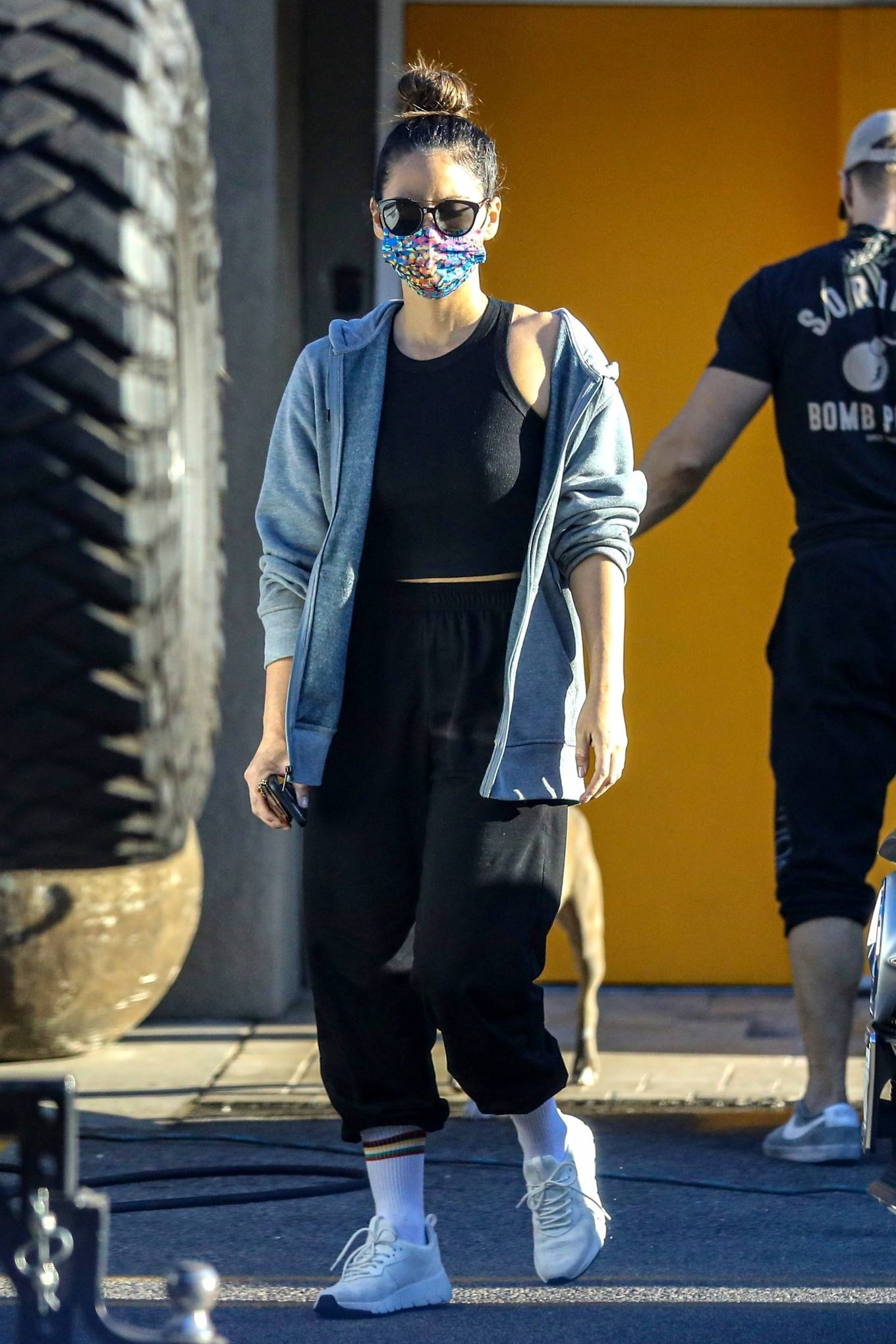 Olivia Munn - leaving a workout in Los Angeles
