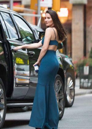 Olivia Munn - Leaving Greenwich Hotel in New York