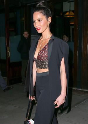 Olivia Munn Leaving her Hotel in New York City