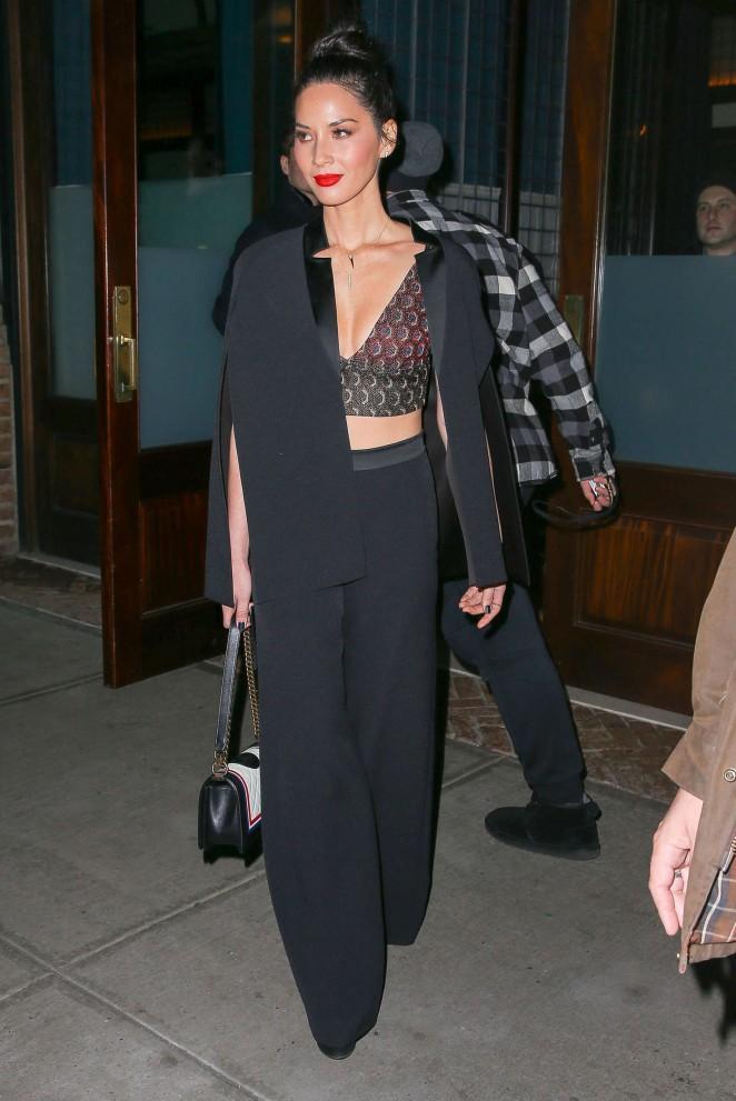 Olivia Munn Leaving her Hotel in New York City -04