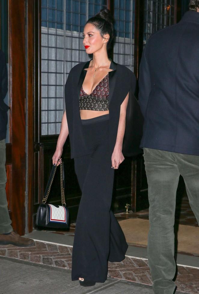 Olivia Munn Leaving her Hotel in New York City -06