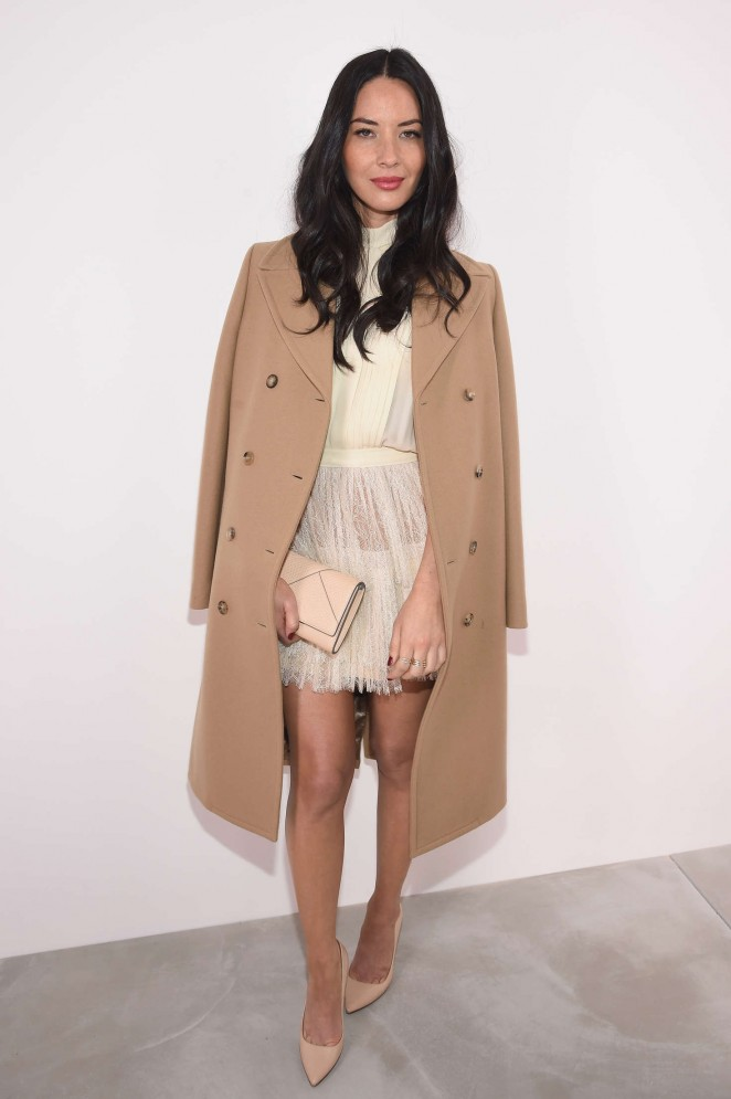 Olivia Munn: Michael Kors 2016 Fashion Show -04