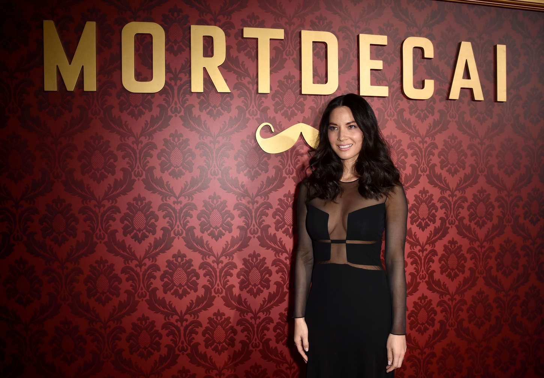 Olivia Munn 2015 : Olivia Munn: Mortdecai LA Premiere -05