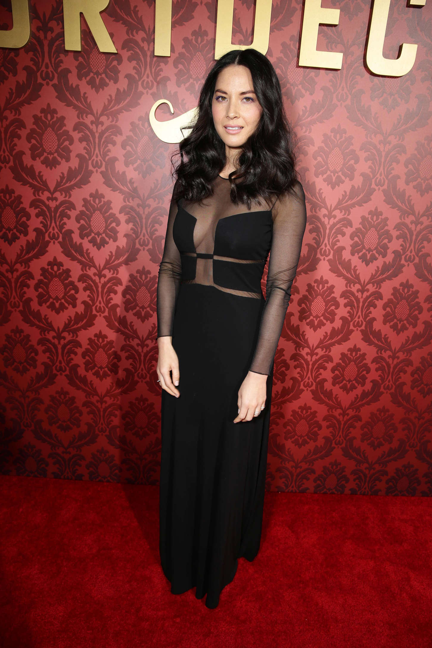 Olivia Munn 2015 : Olivia Munn: Mortdecai LA Premiere -07