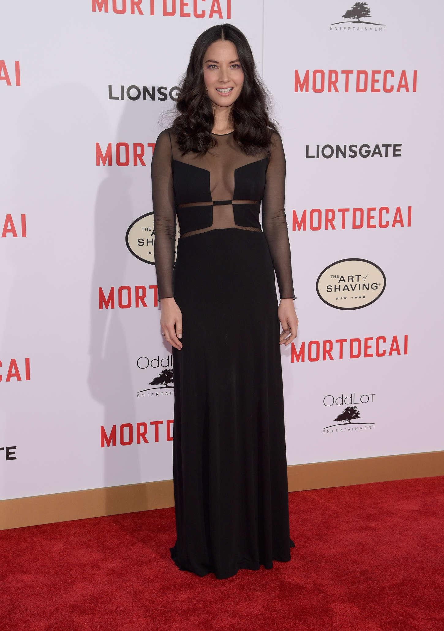 Olivia Munn 2015 : Olivia Munn: Mortdecai LA Premiere -08