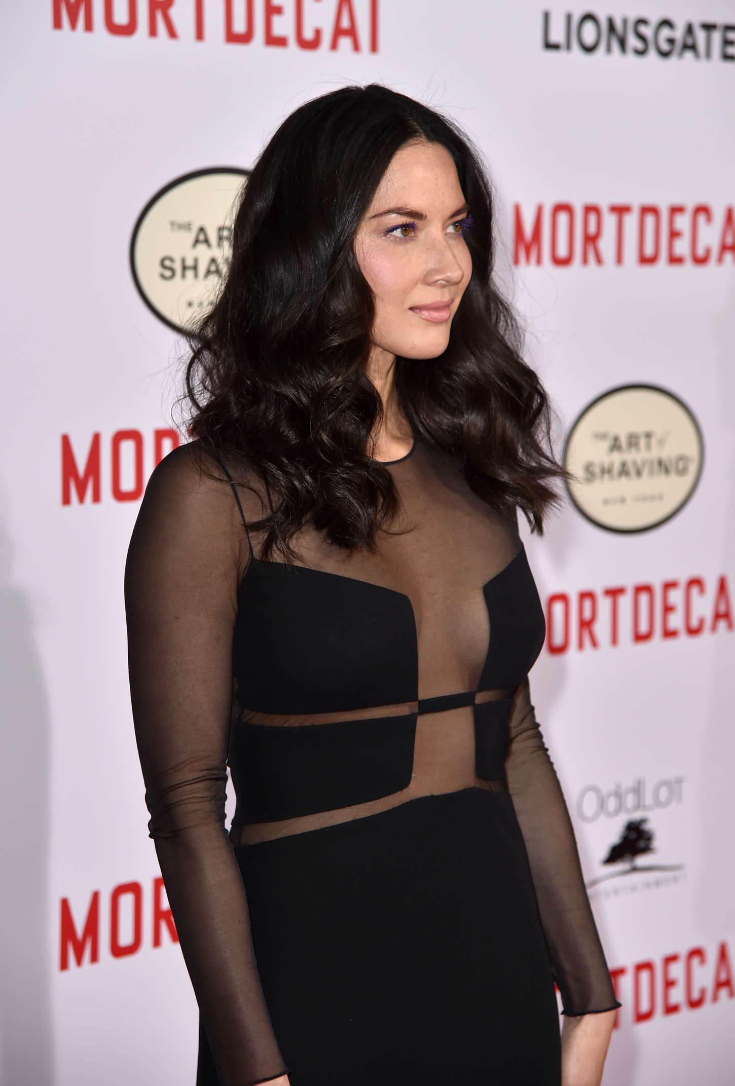 Olivia Munn 2015 : Olivia Munn: Mortdecai LA Premiere -13