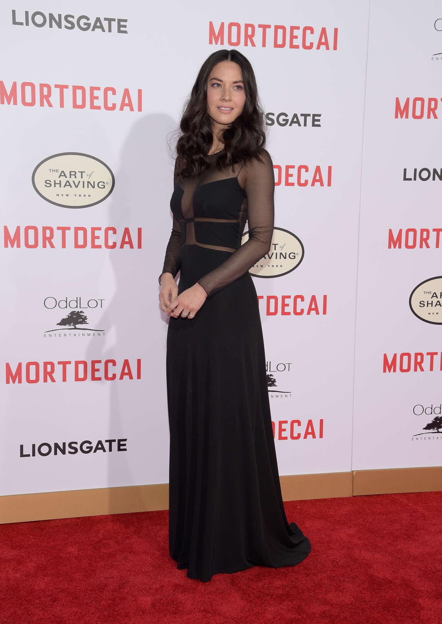 Olivia Munn 2015 : Olivia Munn: Mortdecai LA Premiere -17