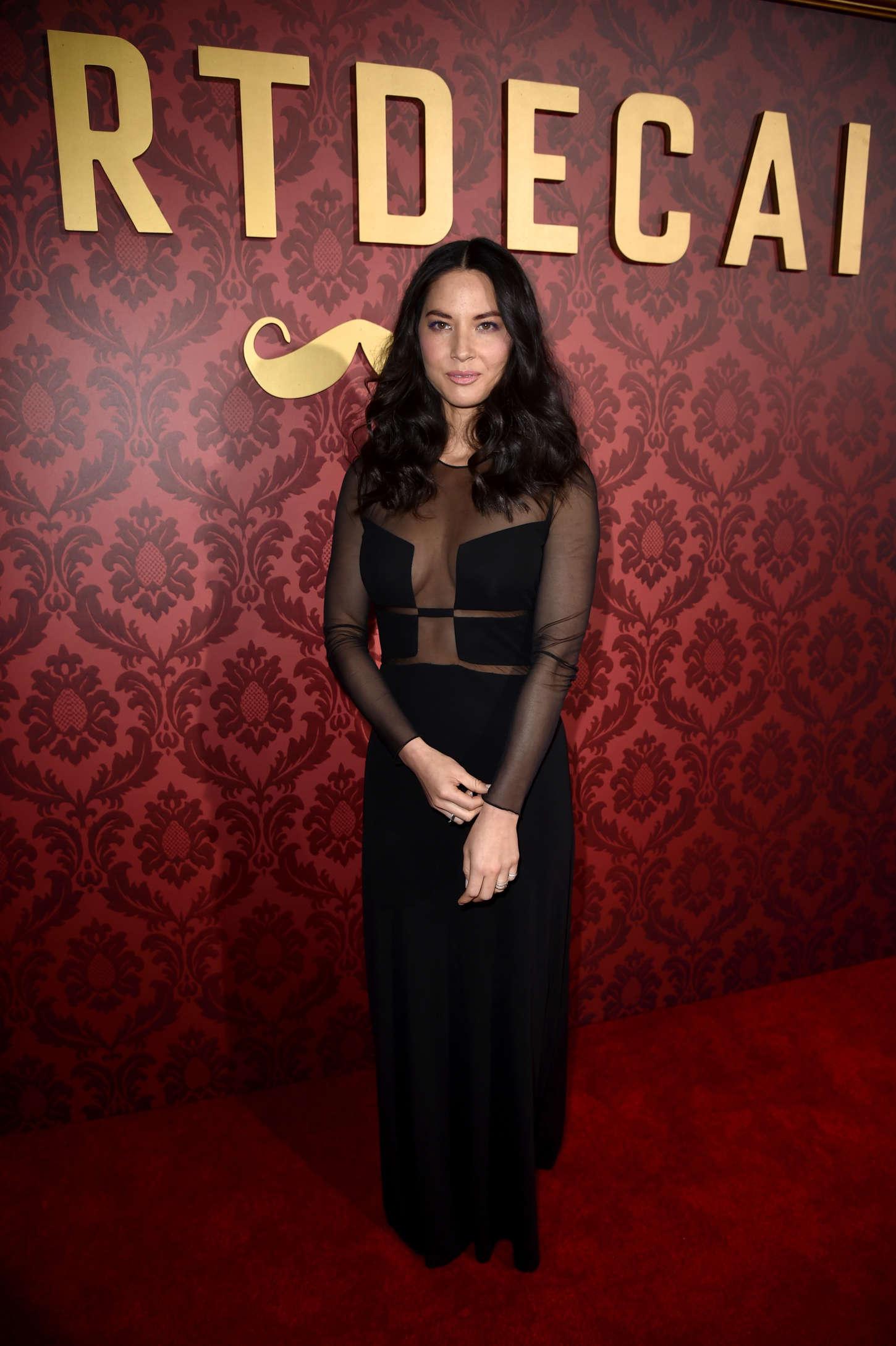 Olivia Munn 2015 : Olivia Munn: Mortdecai LA Premiere -20