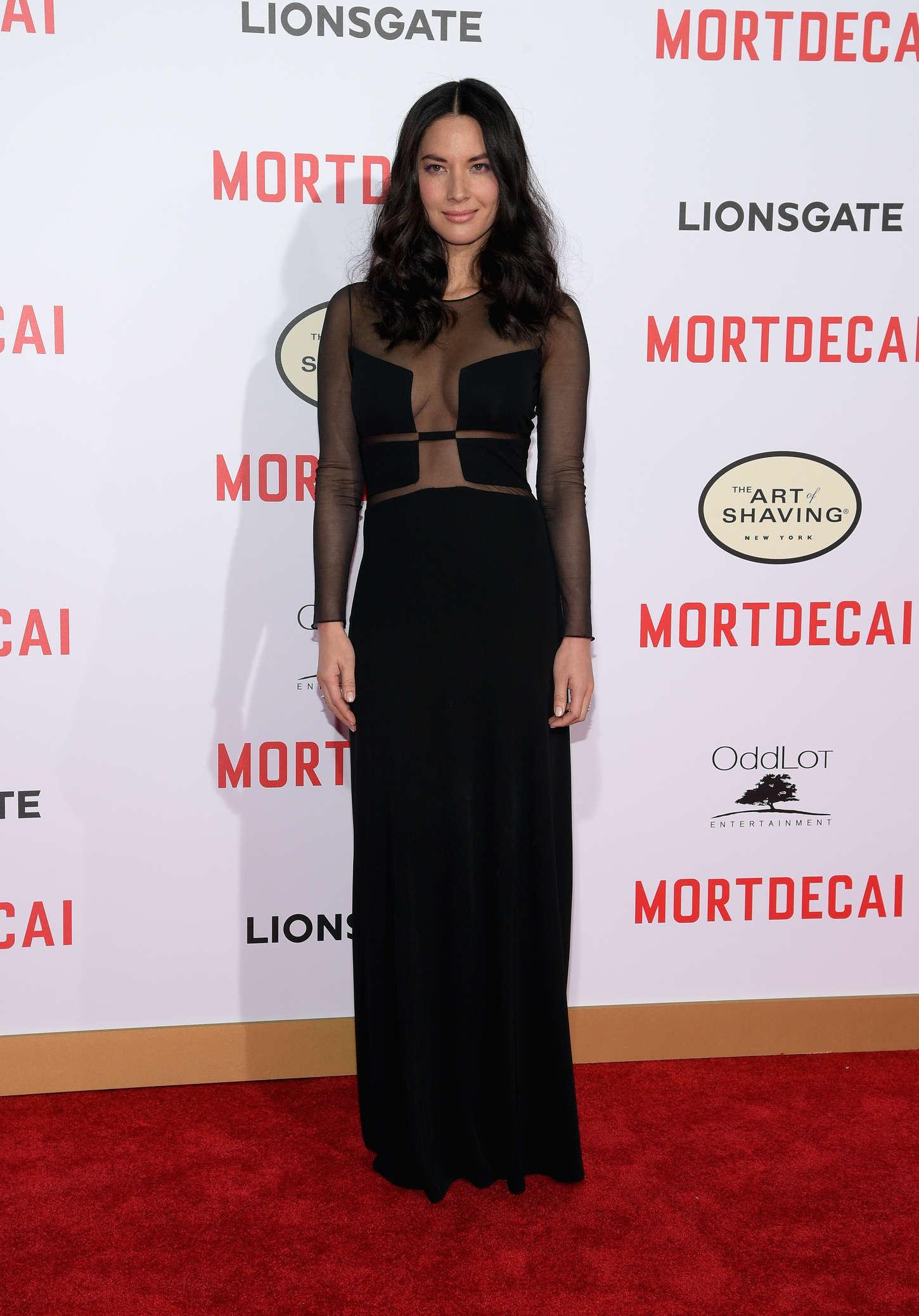 Olivia Munn 2015 : Olivia Munn: Mortdecai LA Premiere -21