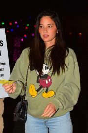 Olivia Munn - Night out in Beverly Hills