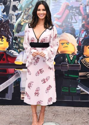 Olivia Munn - Ninjago film photocall in Carlsbad - CA