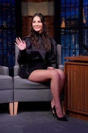Olivia Munn - On 'Late Night with Seth Meyers' in New York City
