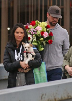Olivia Munn out in Burnaby