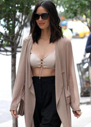 Olivia Munn out in Manhattan