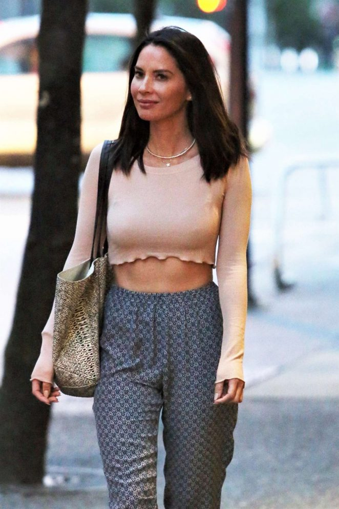 Olivia Munn out in Vancouver