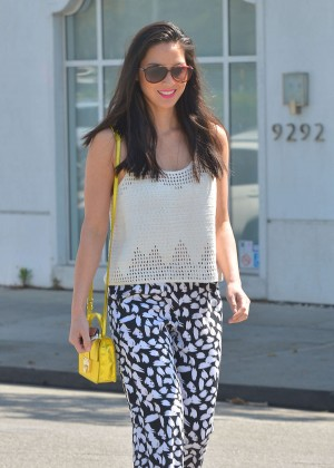 Olivia Munn - Out in West Hollywood