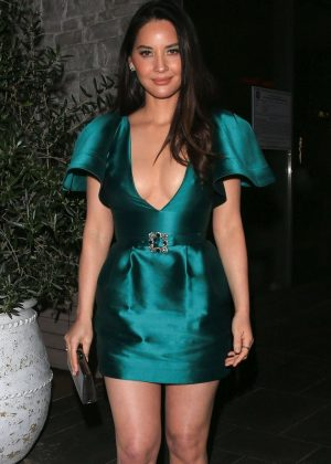 Olivia Munn - Outside the Hollywood Reporter Dinner in Beverly Hills