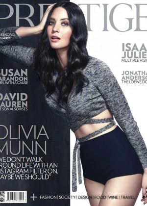 Olivia Munn - Prestige Hong Kong Magazine (May 2015)