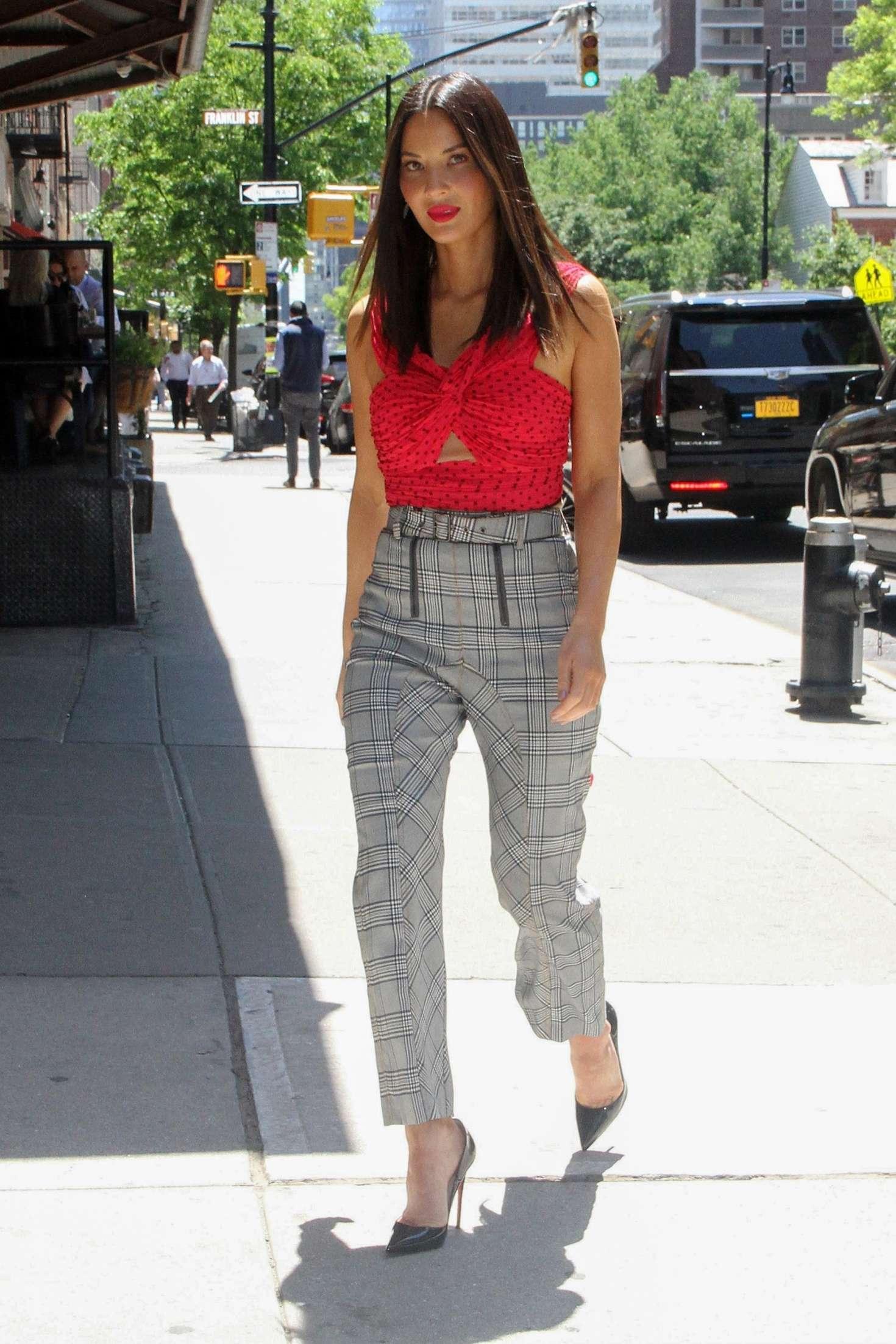 Olivia Munn 2018 : Olivia Munn: Promotes her new series Six -05