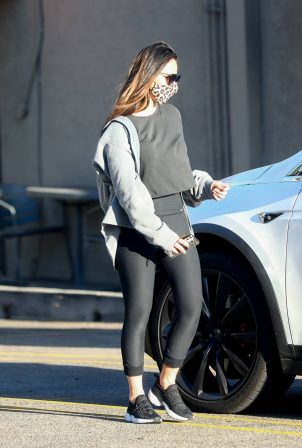Olivia Munn - seen after her daily workout in Los Angeles