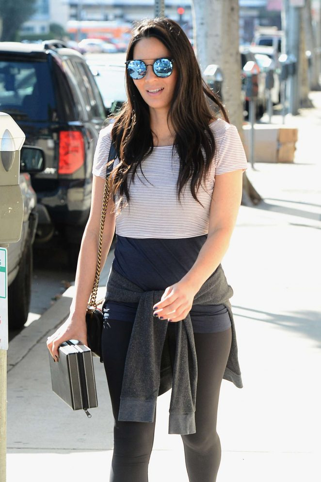 Olivia Munn - Shopping at Watch Time in West Hollywood