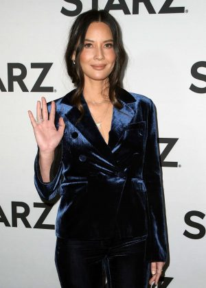 Olivia Munn - STARZ TCA Red Carpet Event in LA