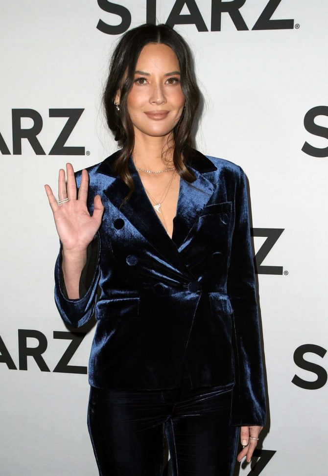 Olivia Munn – STARZ TCA Red Carpet Event in LA