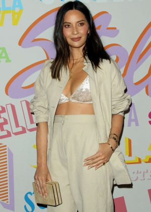 Olivia Munn - Stella McCartney's Autumn 2018 Collection Launch in LA