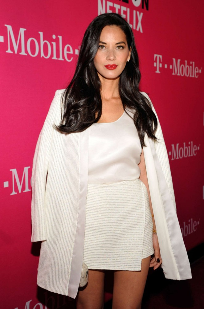 Olivia Munn - T-Mobile Un-carrier X Launch Celebration in Los Angeles