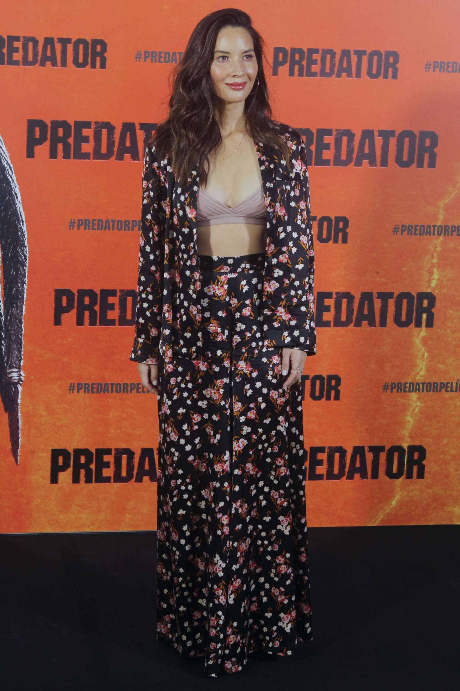 Olivia Munn - 'The Predator' Photocall in Madrid