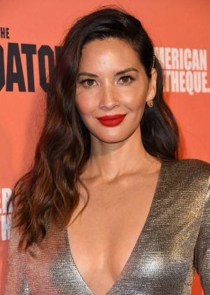 Olivia Munn - 'The Predator' Screening in Los Angeles