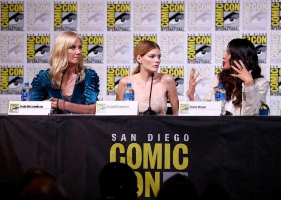 Olivia Munn 2019 : Olivia Munn – The Rook Panel at Comic Con San Diego 2019-01