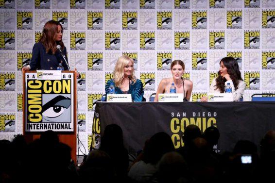 Olivia Munn 2019 : Olivia Munn – The Rook Panel at Comic Con San Diego 2019-12