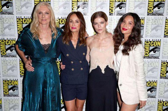 Olivia Munn 2019 : Olivia Munn – The Rook Panel at Comic Con San Diego 2019-16