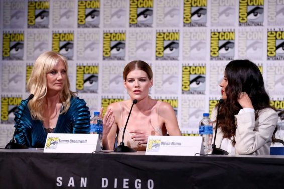 Olivia Munn 2019 : Olivia Munn – The Rook Panel at Comic Con San Diego 2019-19